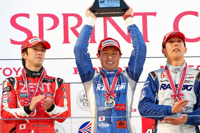 JAF GP:R1は塚越が追い上げ今季初優勝。立川2位(1)