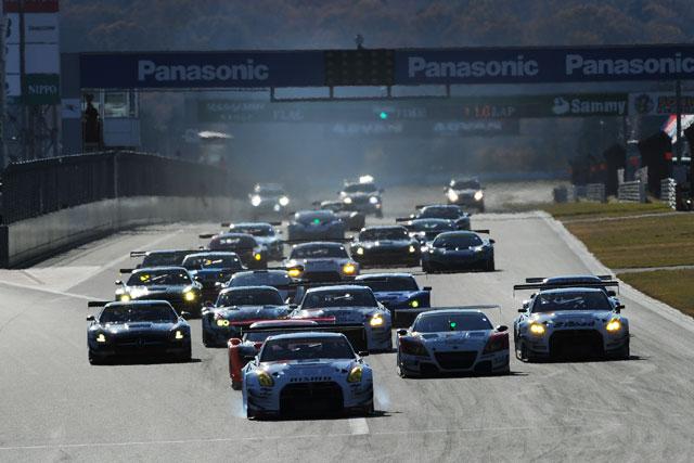 JAF GP:GT300のR1はPPの佐々木が初勝利(2)