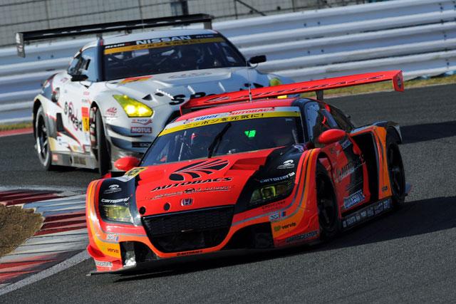 JAF GP:GT300のR1はPPの佐々木が初勝利(4)