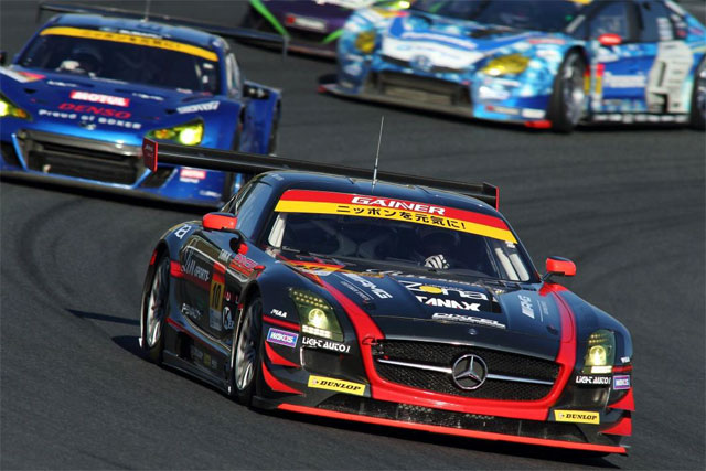 GAINER Rn-SPORTS SLS、JAF GPはレース2入賞(1)