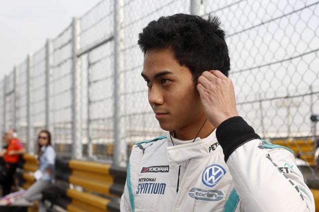 マレーシアの若手がメルセデスF1でテスト(1)