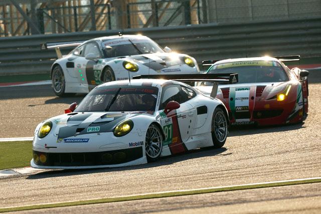 ポルシェ、WECバーレーンは91号車が2位表彰台(1)