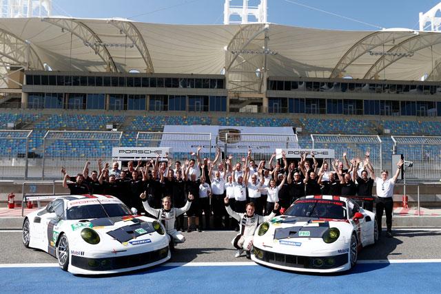 ポルシェ、WECバーレーンは91号車が2位表彰台(5)