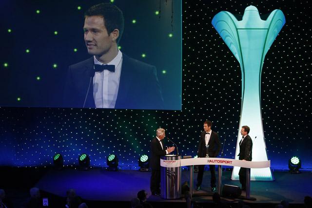 オジエ、モータースポーツ界のオスカーを受賞(1)