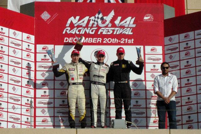 道見、MRFチャレンジ第9戦で2位表彰台を獲得(1)