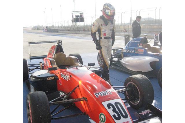 道見、MRFチャレンジ第9戦で2位表彰台を獲得(2)