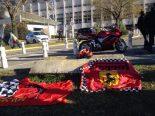 F1   病院前にファン集う/シューマッハー現地レポート