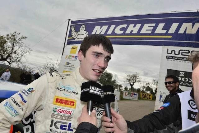 クレイグ・ブリーン、WRCスウェーデンでWRカーデビュー(1)