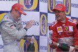F1   ショックのハッキネン、手紙でミハエルの回復祈る