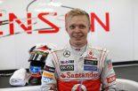 F1   「ケビンはアロンソやバトンと渡り合えるかも」