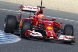 F1 | 跳ね馬を駆るライコネンが2014年最初のトップ