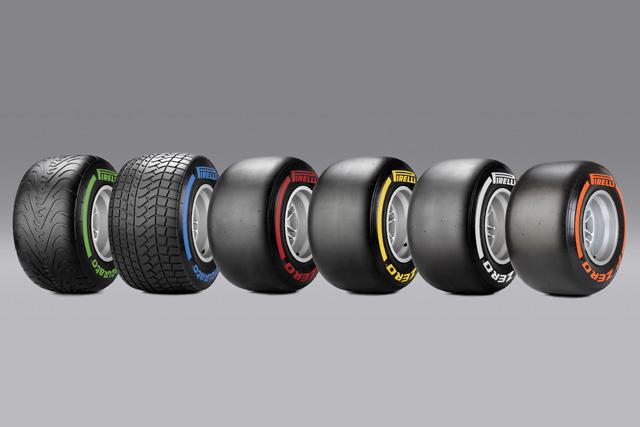 2014年の新型F1タイヤ、機能と特徴を解説(1)