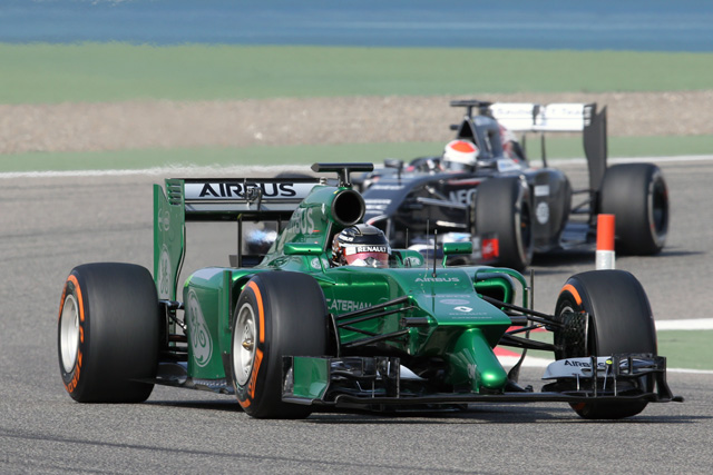 【2014 F1合同テスト】バーレーンテスト2回目第1日