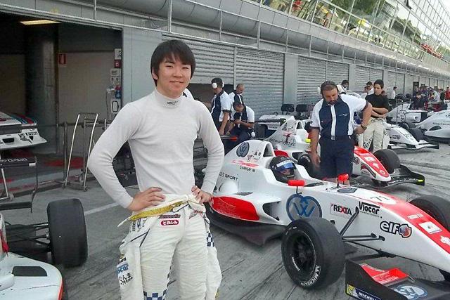 笹原右京、フォーミュラ・ルノー2.0NEC参戦を発表(1)