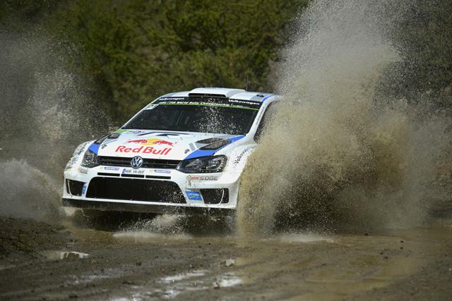 WRCメキシコ:VWが1-2、ヒュンダイ初表彰台(1)