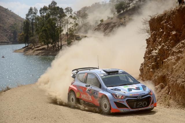 WRCメキシコ:VWが1-2、ヒュンダイ初表彰台(3)