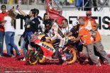 MotoGP最終戦バレンシアGPで2017年の王者に輝いたマルク・マルケス