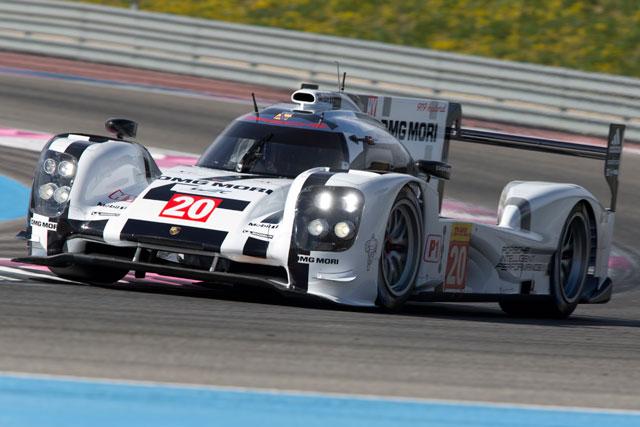 ポルシェ、WEC公式テストを前に2台体制で初走行(1)