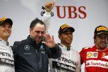 F1 | 独走ハミルトン初の3連勝。跳ね馬も今季初表彰台