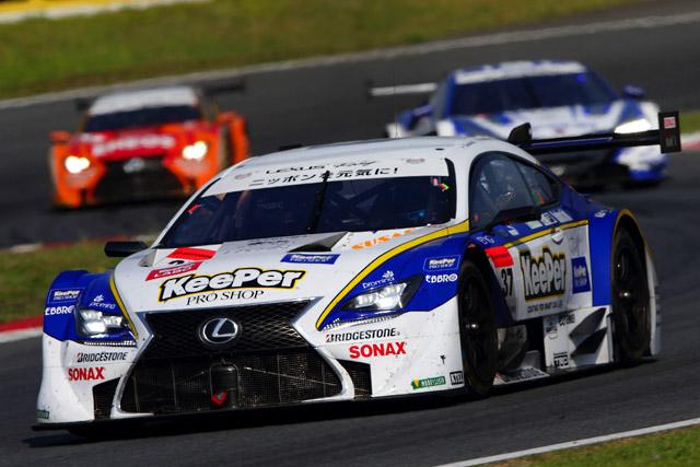 レクサスRC F、ホーム富士で2〜3位表彰台獲得(3)
