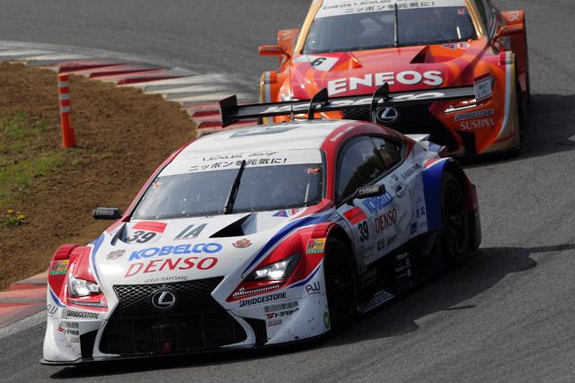 レクサスRC F、ホーム富士で2〜3位表彰台獲得(4)