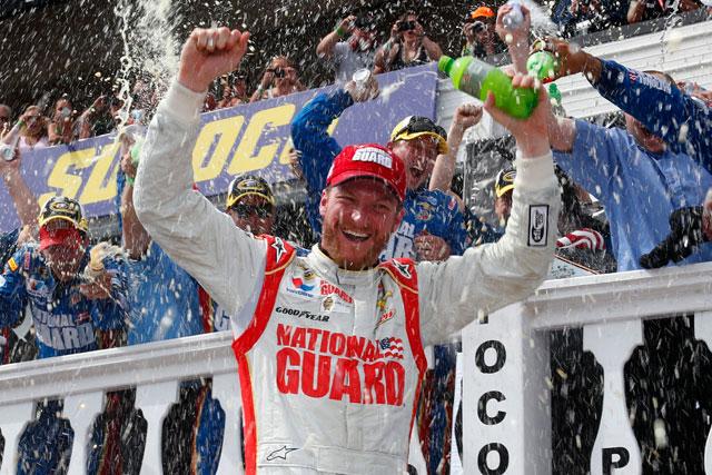 NASCAR:ライバル失速でアーンハートJrが2勝目(1)