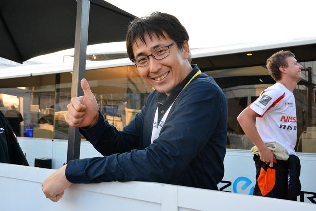 松田次生、サルト・サーキットに登場