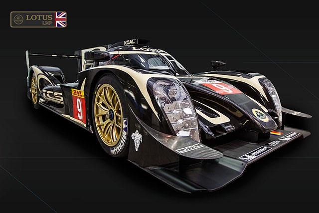 ロータス、新LMP1『P1/01』をル・マンで発表(2)