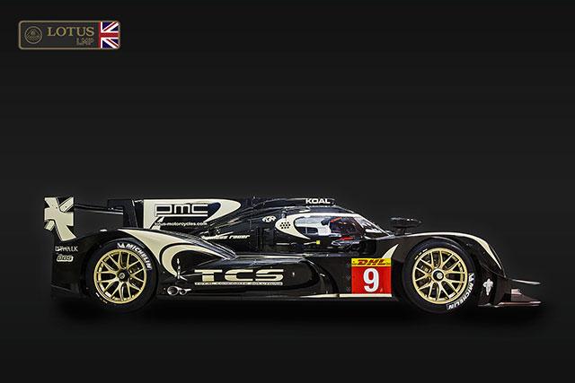 ロータス、新LMP1『P1/01』をル・マンで発表(4)