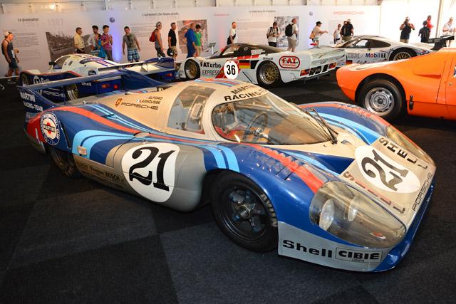 ル・マンにポルシェの展示登場。往年の名車ズラリ(5)