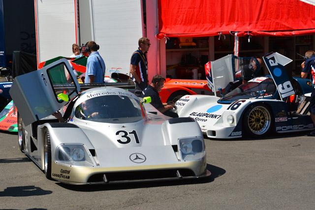 ル・マンのCカーレースで久保田とR90CKがPP獲得(2)
