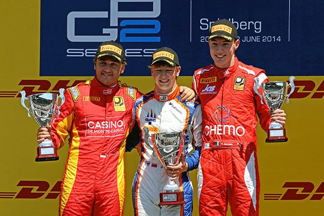 GP2レース2:3番グリッドからチェコットが今季2勝目(1)