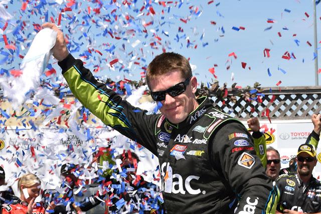 NASCAR:今季初のロード戦をエドワーズが制す(2)