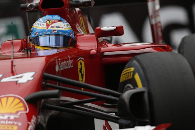アロンソ、2015年のフェラーリに期待(1)
