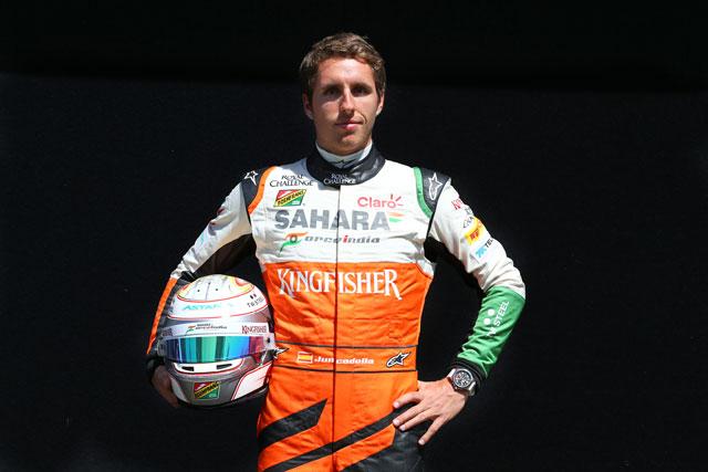 ジュンカデラ、F1プラクティスデビューが決定(1)