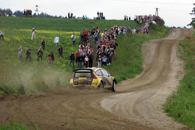WRCポーランド:日本時間のアイテナリー(1)