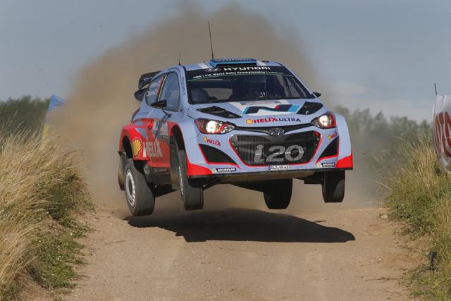 WRCポーランド:オジエ安定の首位発進(3)