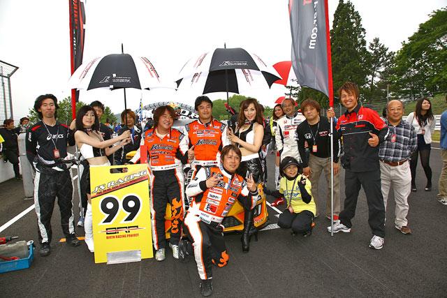 BRP★J'S RACINGフィット3、S耐第2戦はクラス4位(5)