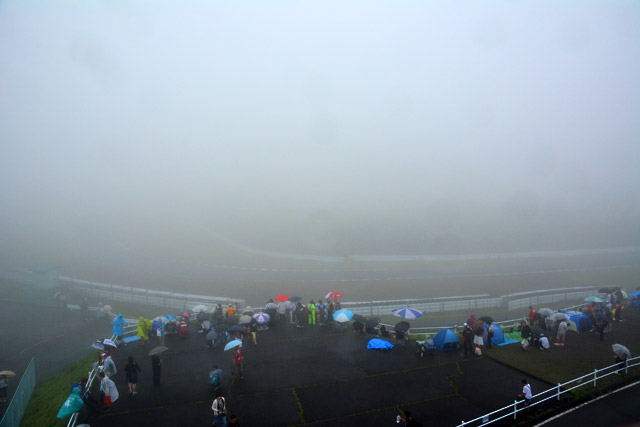 スーパーGT第4戦SUGOの予選は霧の影響で中止に(2)