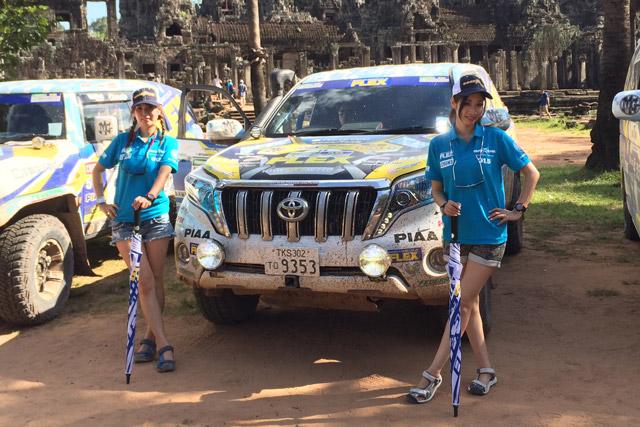 FLEX SHOW AIKAWA RACING、国境超えカンボジアへ(2)