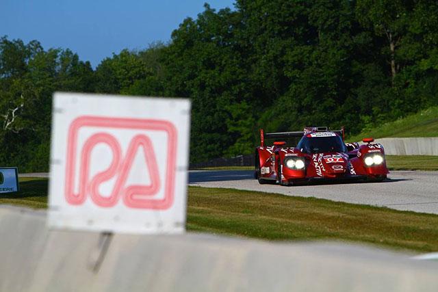 マツダLMP2、USCCロードアメリカは07号車が9位(3)
