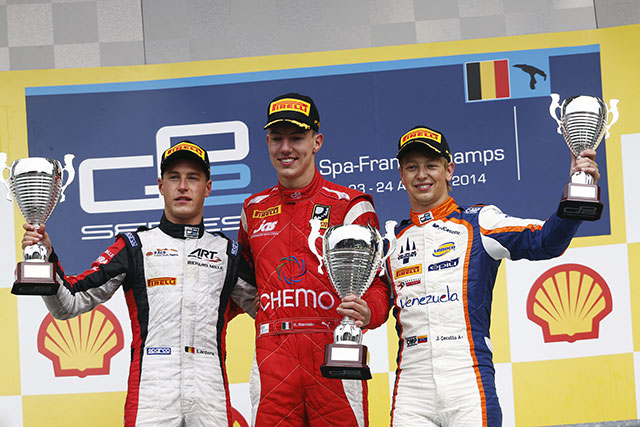 GP2:ベルギー決勝1伊沢、ギャンブル失敗(3)