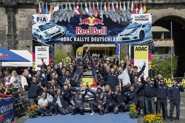 WRCドイツ:ヒュンダイが1-2でWRC初勝利!(1)