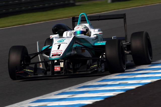 勝田、全日本F3もてぎで優勝&3位を獲得(2)