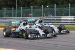 F1 | メルセデス「接触にうまく対処できたのが成功の鍵」