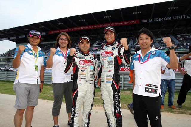 初音ミクZ4、初開催タイで3位。選手権首位で最終戦へ(5)