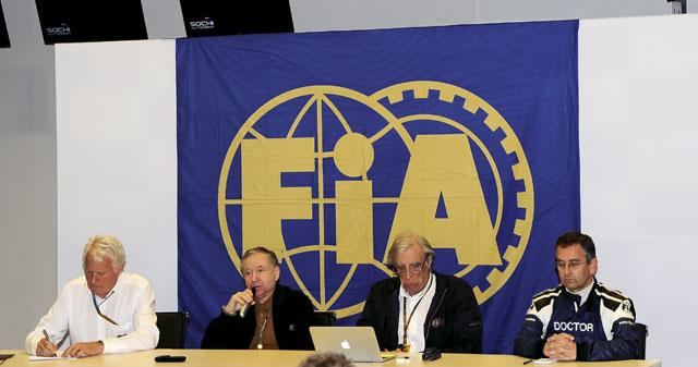 FIA、ビアンキの事故調査委員会設置。情報求める(1)