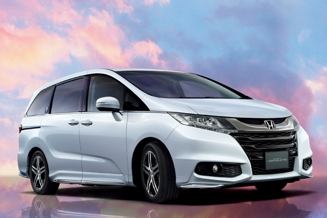 ホンダ、オデッセイ20周年特別仕様車を発売(2)