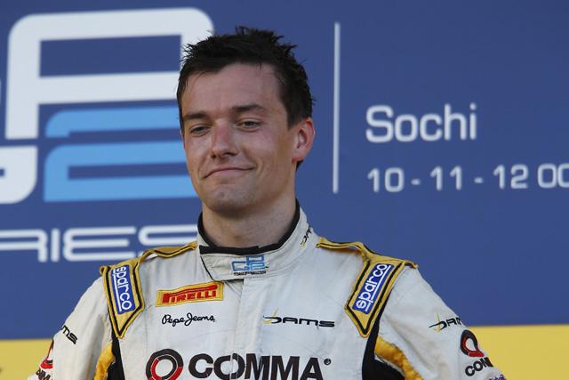 GP2王者パーマー、F1昇格に自信(1)