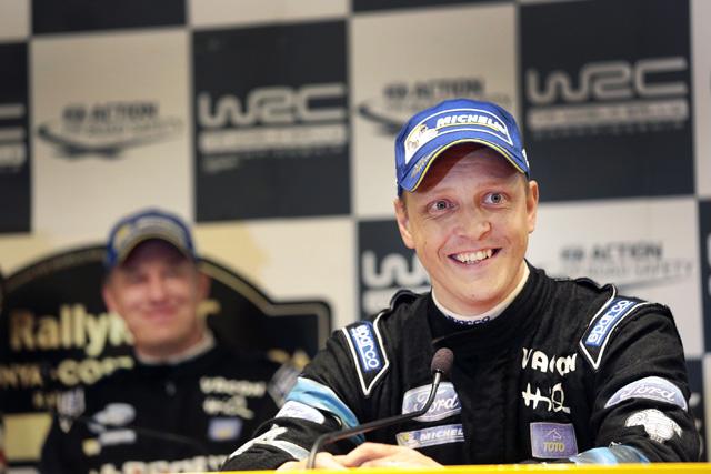WRCスペイン:WRCポスト会見「いつでもペースは持っていた」(1)